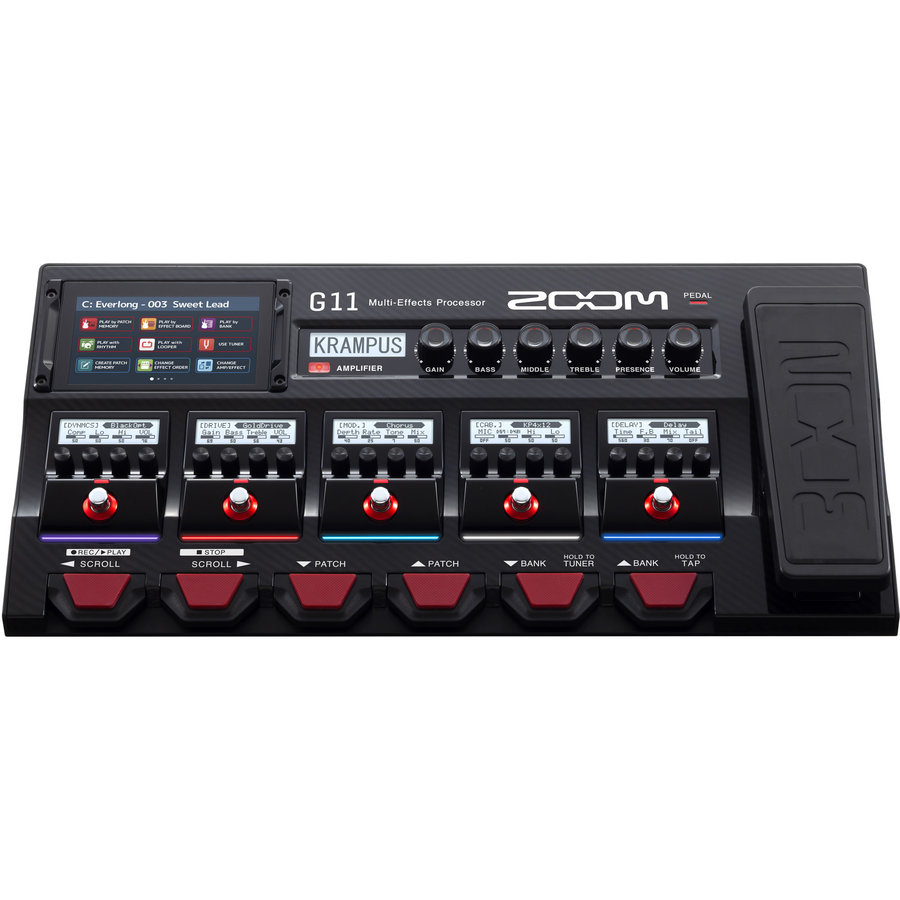 View larger image of Zoom G11 Multi-Effects Processor