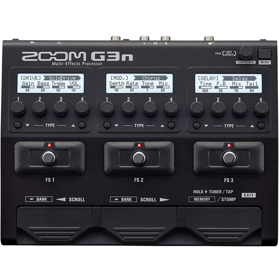 View larger image of Zoom G3N Multi-Effects Processor