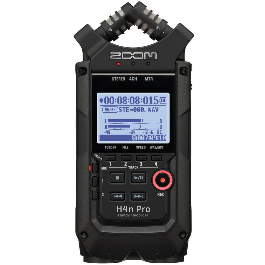 View larger image of Zoom H4n Pro Handy Audio Recorder