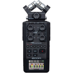 Zoom H6 Handy Recorder - Black