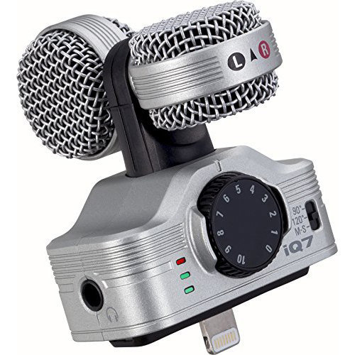 View larger image of Zoom iQ7 Mid-Side Stereo iOS Microphone