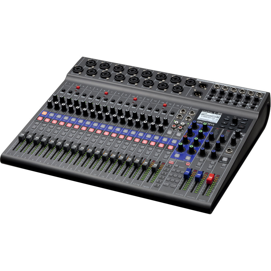 View larger image of Zoom LiveTrak L-20 20-Channel Mixer/Recorder