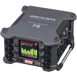 Zoom The Zoom F6 Professional Field Recorder
