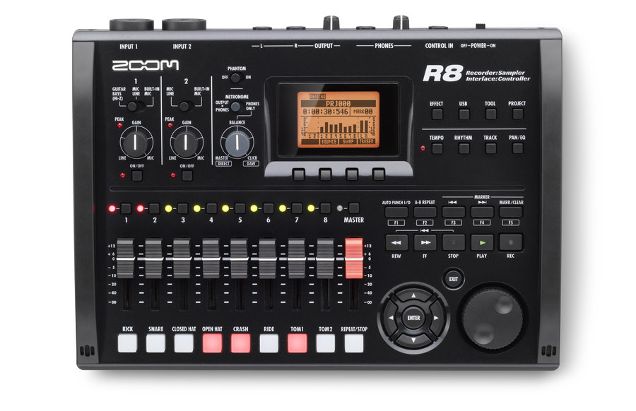 View larger image of Zoom The Zoom R8 Recorder