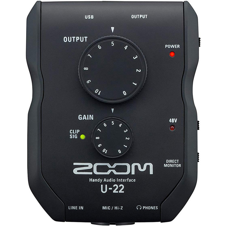 View larger image of Zoom U-22 Handy Audio Interface