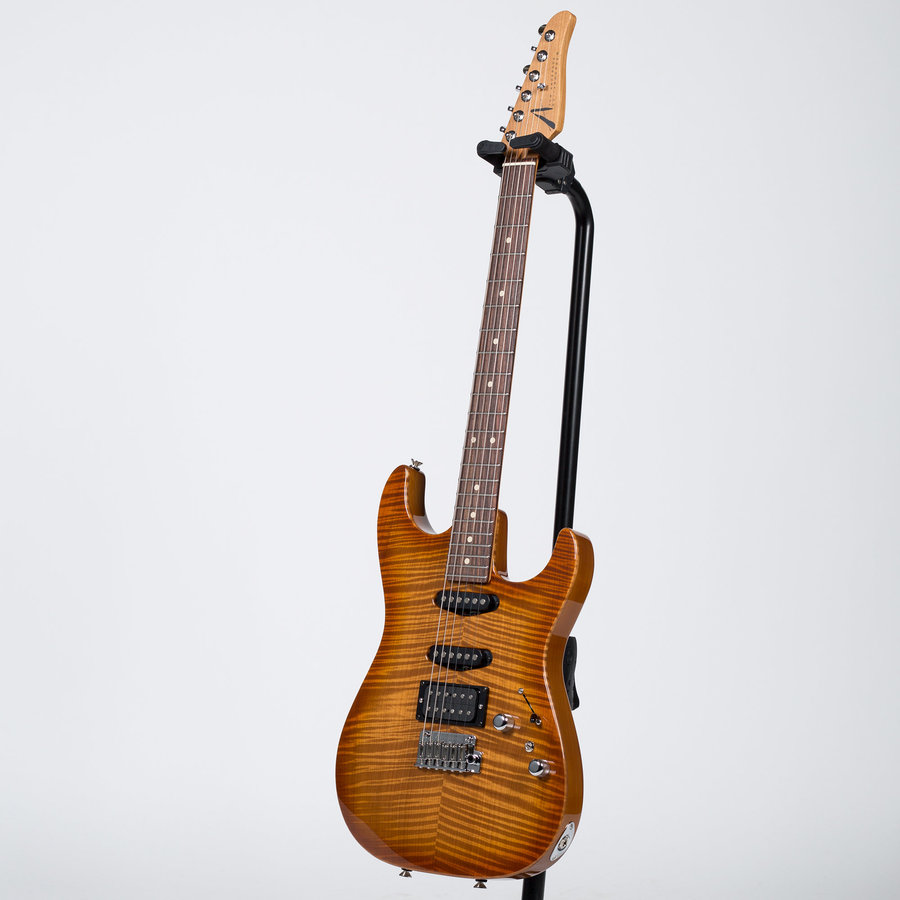 View larger image of Anderson Drop Top Electric Guitar - Honey Shaded Edge
