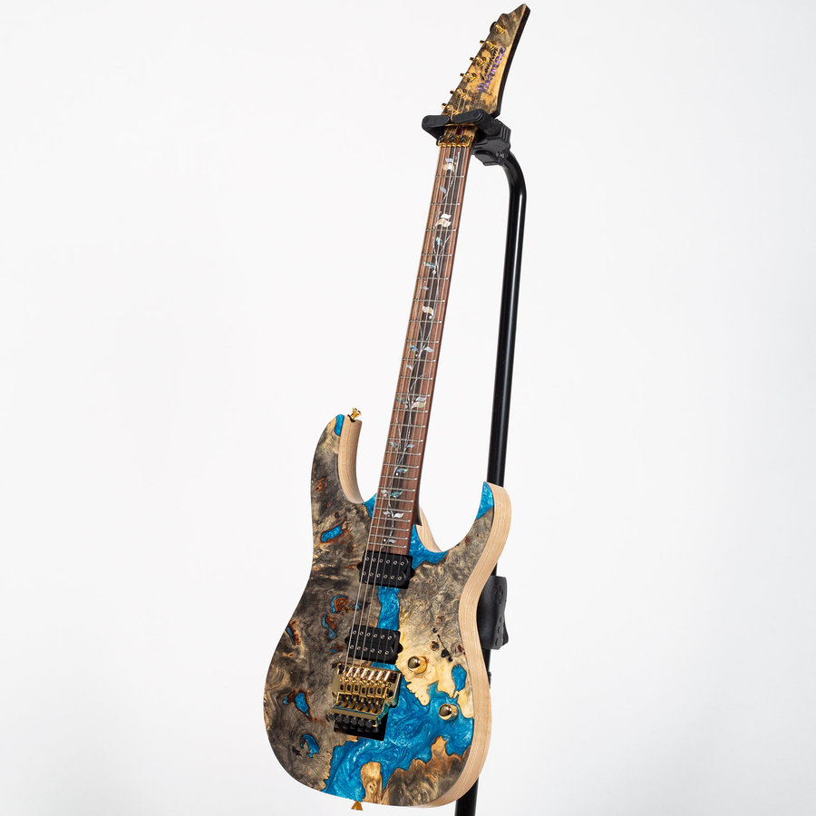 View larger image of Ibanez RG J Custom Limited Edition Electric Guitar - Blue Resin
